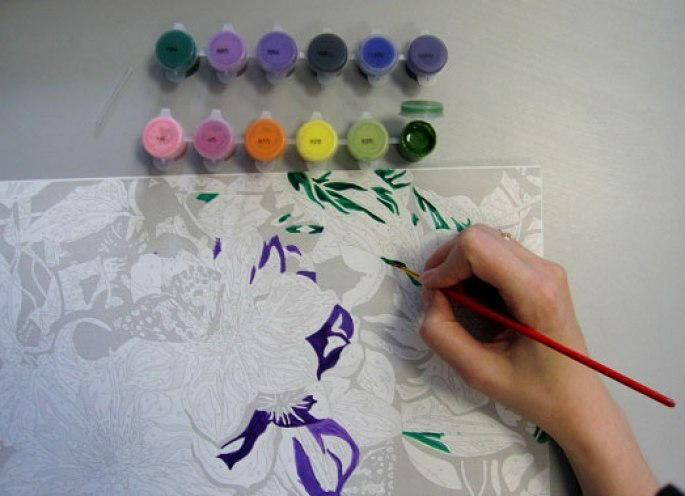 Как рисовать картины по