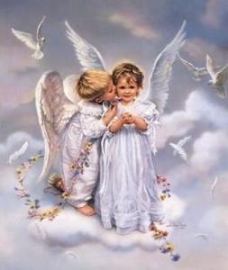 Ангелочки на облачке